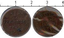 Изображение Монеты Гессен-Дармштадт 1 пфенниг 1819 Медь VF Людовик