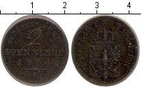 Изображение Монеты Пруссия 2 пфеннига 1864 Медь