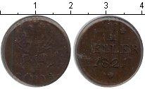 Изображение Монеты Франкфурт 1 хеллер 1821 Медь