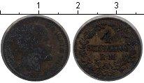 Изображение Монеты Дания 4 скиллинга 1856 Серебро