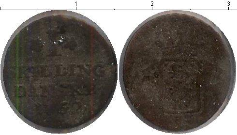 Картинка Монеты Дания 1 скиллинг Медь 1762