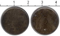 Изображение Монеты Дания 2 скиллинга 1801 Серебро  HIAB