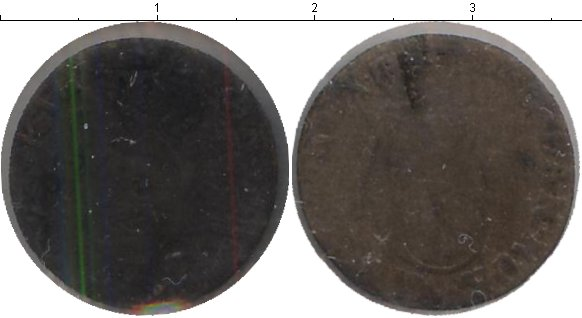 Картинка Монеты Дания 2 скиллинга Серебро 1681