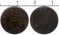 Изображение Монеты Дания 1 скиллинг 1782 Медь XF