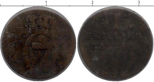 Картинка Монеты Дания 1 скиллинг Медь 1782