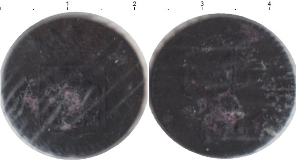 Картинка Монеты Нидерланды 1 дьюит Медь 1766
