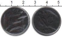 Изображение Монеты Нидерландская Индия 1 дьюит 1731 Медь