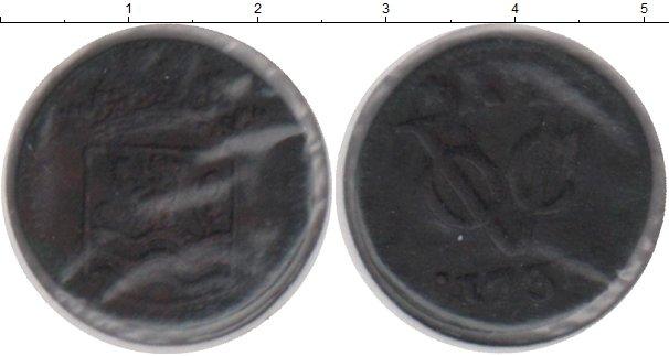 Картинка Монеты Нидерландская Индия 1 дьюит Медь 1731