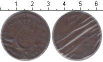 Изображение Монеты Швеция 1/2 скиллинга 1830 Медь VF