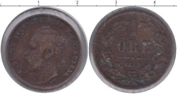 Картинка Монеты Швеция 1 эре Медь 1872