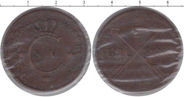 Картинка Монеты Швеция 1/2 скиллинга Медь 1827