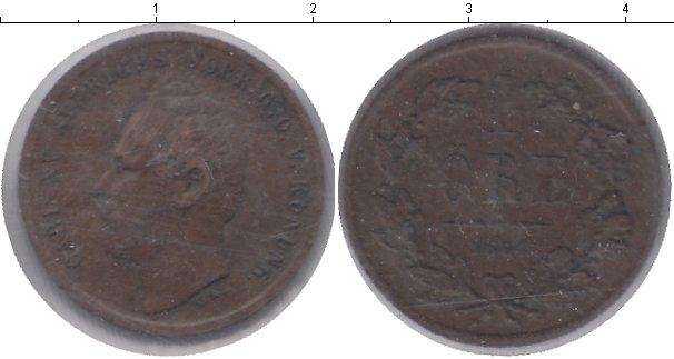 Картинка Монеты Швеция 1 эре Медь 1864