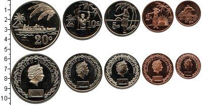 Изображение Наборы монет Токелау Токелау 2012 2012  UNC В наборе 5 монет ном
