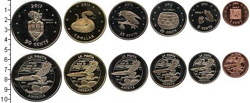 Изображение Наборы монет Резервация Ла-Поста Резервация Ла-Поста 2013 2013  UNC-