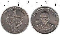Изображение Монеты Куба 1 песо 1977 Медно-никель UNC- Антонио Макео
