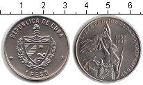 Изображение Монеты Куба 1 песо 1989 Медно-никель UNC- свобода