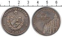 Изображение Монеты Куба 1 песо 1988 Медно-никель XF 150 лет театру Гаван