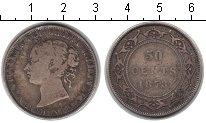 Изображение Монеты Ньюфаундленд 50 центов 1873 Серебро VF Виктория