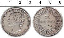 Изображение Монеты Ньюфаундленд 50 центов 1874 Серебро VF Виктория