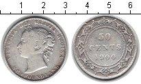 Изображение Монеты Ньюфаундленд 50 центов 1900 Серебро VF Виктория