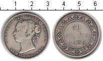 Изображение Монеты Ньюфаундленд 50 центов 1885 Серебро VF Виктория