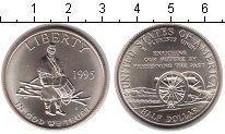 Изображение Монеты США 50 центов 1995 Медно-никель UNC-