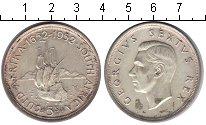 Изображение Монеты ЮАР 5 шиллингов 1952 Серебро XF Георг VI