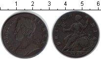 Изображение Монеты Великобритания 1/2 пенни 1747 Медь VF