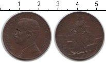 Изображение Монеты Италия 5 сентесим 1909 Медь XF Витторио Имануил III