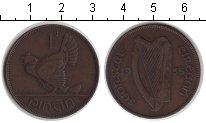 Изображение Монеты Ирландия 1 пенни 1935 Медь VF курица