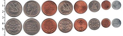 Изображение Наборы монет Португалия Португалия 1971-1981 0   В наборе 8 монет ном