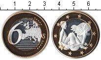 Изображение Мелочь Германия 6 секс евро 0 Биметалл UNC