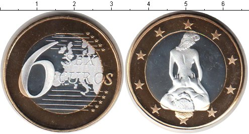 Картинка Мелочь Германия 6 секс евро Биметалл 0