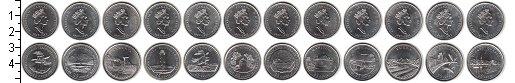 Изображение Наборы монет Канада Канада 1992 1992 Медно-никель UNC- В наборе 12 монет но