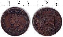 Изображение Монеты Остров Джерси 1/12 шиллинга 1935 Медь VF