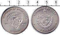 Изображение Монеты Куба 1 песо 1985 Медно-никель XF Попугай