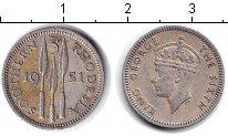 Изображение Монеты Великобритания Родезия 3 пенса 1951 Медно-никель