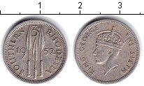 Изображение Монеты Родезия 3 пенса 1952 Медно-никель