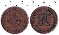 Изображение Монеты Германия Вестфалия 3 сентима 1810 Медь
