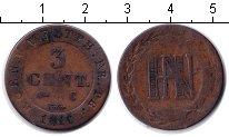 Изображение Монеты Вестфалия 3 сентима 1810 Медь