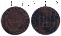 Изображение Монеты Германия Вестфалия 3 сентима 1812 Медь