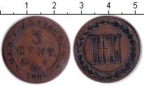 Изображение Монеты Вестфалия 3 сентима 1809 Медь