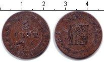 Изображение Монеты Германия Вестфалия 2 сантима 1809 Медь
