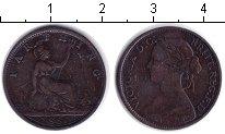 Изображение Монеты Великобритания 1 фартинг 1860 Медь  Виктория