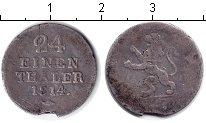 Изображение Монеты Гессен-Кассель 1/24 талера 1814 Серебро