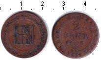 Изображение Монеты Германия Вестфалия 2 сантима 1812 Медь