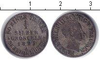 Изображение Монеты Пруссия 1/2 гроша 1825 Серебро VF Фридрих Вильгельм II
