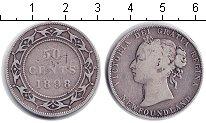 Изображение Монеты Ньюфаундленд 50 центов 1898 Серебро VF Виктория