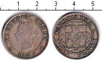 Изображение Монеты Ямайка 1/2 пенни 1884 Медно-никель VF