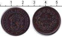Изображение Монеты Люксембург 5 сантимов 1855 Медь VF